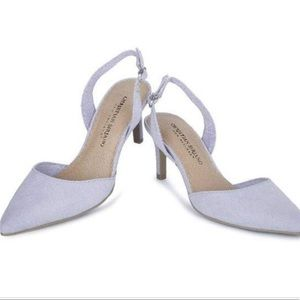 Christian Siriano Kadence Slingback Lilac Heel Sz8